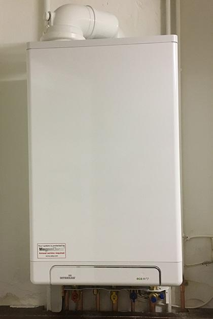 New boiler in Hampshire