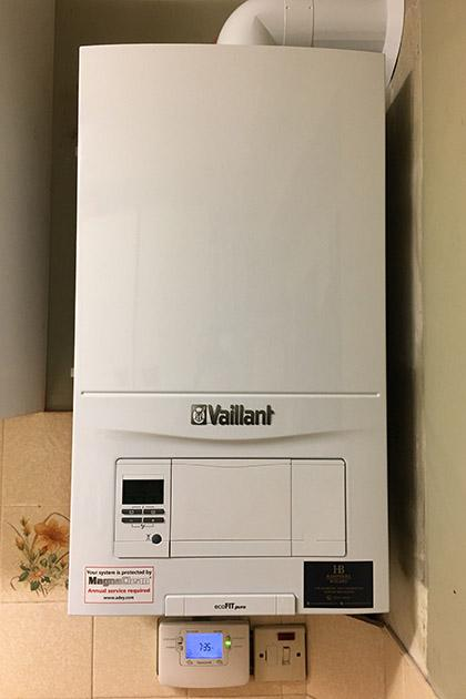 Vaillant boiler in Hampshire